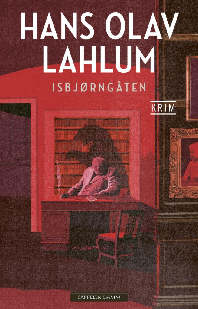 Bokomslag: Isbjørngåten, K2-serien #9, av Hans Olav Lahlum, krimserie